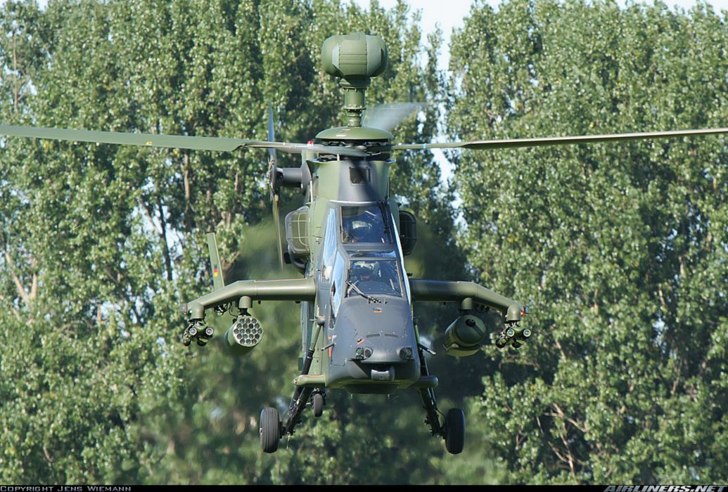 Helicopter Aircraft Vehicle Military Army Attack Eurocopter Tiger Germany wallpaper