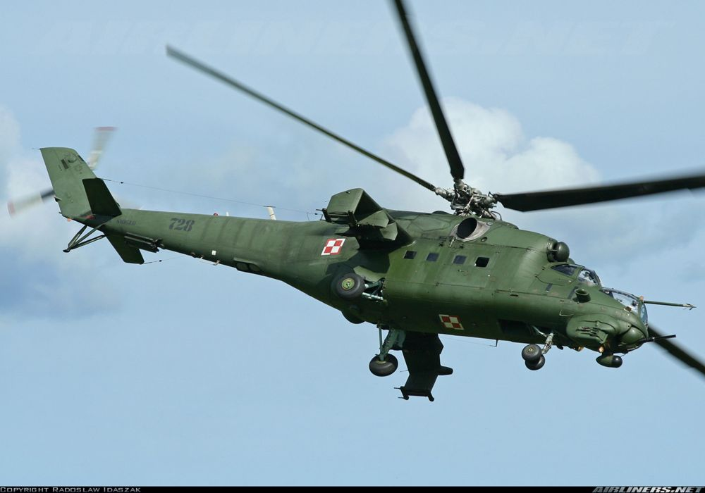 Helicopter Aircraft Vehicle Military Army Attack Mil-Mi Poland wallpaper
