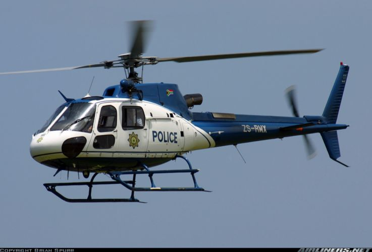 Helicopter Aircraft Vehicle Police South-Africa wallpaper