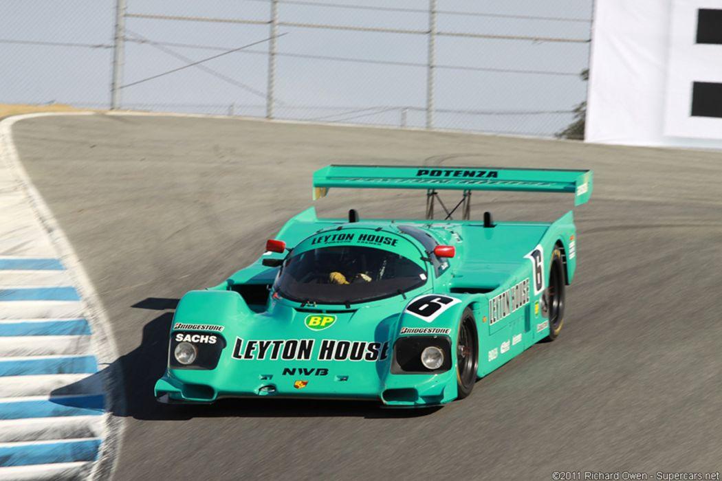 Race Car Classic Racing Porsche Germany Le-Mans LMP1 Leyton House 2667x1779 wallpaper