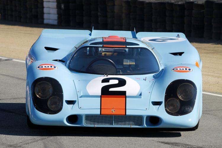 Race Car Classic Racing Porsche Gulf Germany Le-Mans LMP1 2667x1779 wallpaper