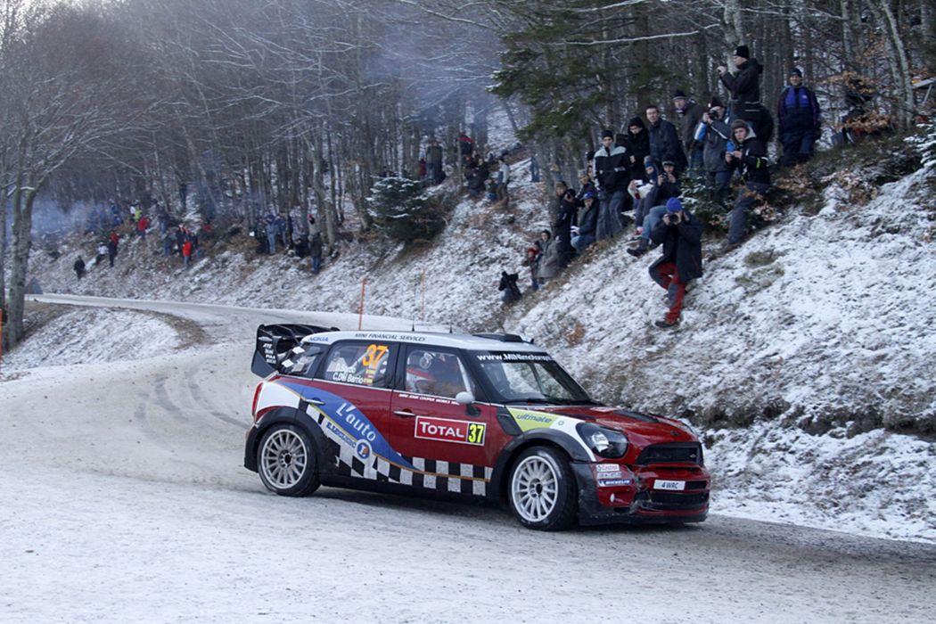 Race Car Racing Vehicle Rally Mini Cooper wallpaper