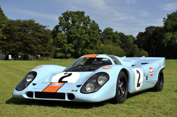 Race Car Classic Vehicle Racing Porsche Germany Gulf Le-Mans LMP1 2667x1779 wallpaper