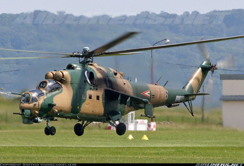 Helicopter Aircraft Vehicle Military Army Attack Mil-Mi wallpaper