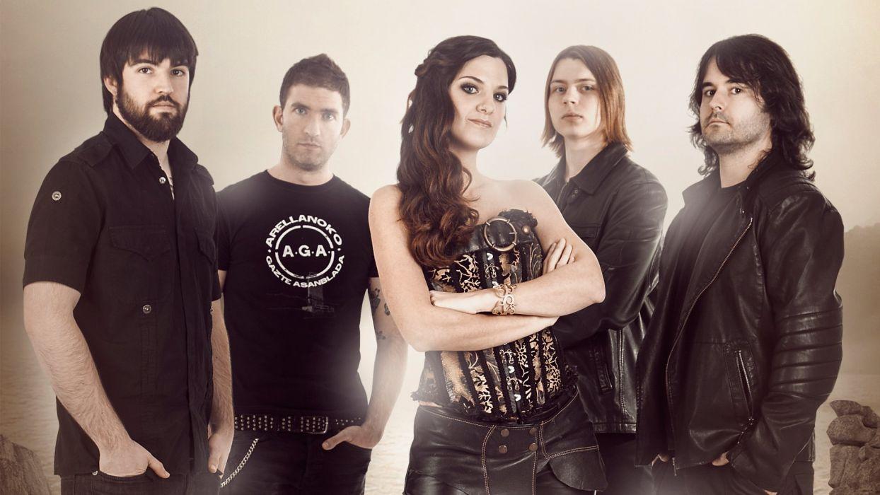 DIABULUS IN MUSICA symphonic metal heavy gothic rock babe (15) wallpaper