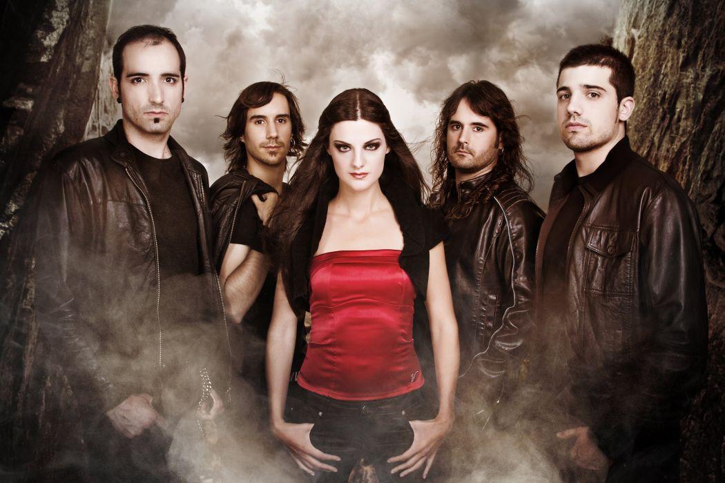 DIABULUS IN MUSICA symphonic metal heavy gothic rock babe (23) wallpaper