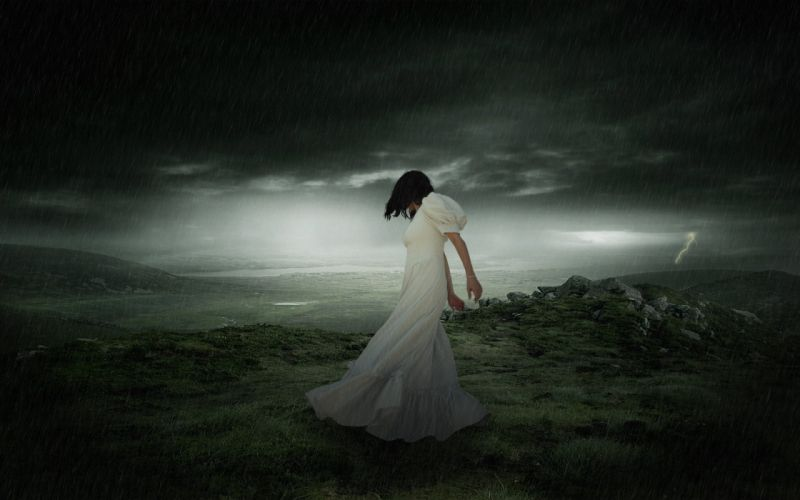 XANDRIA symphonic metal heavy gothic rock rain mood fantasy sorrow sad wallpaper
