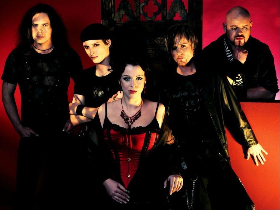 XANDRIA symphonic metal heavy gothic rock (20) wallpaper