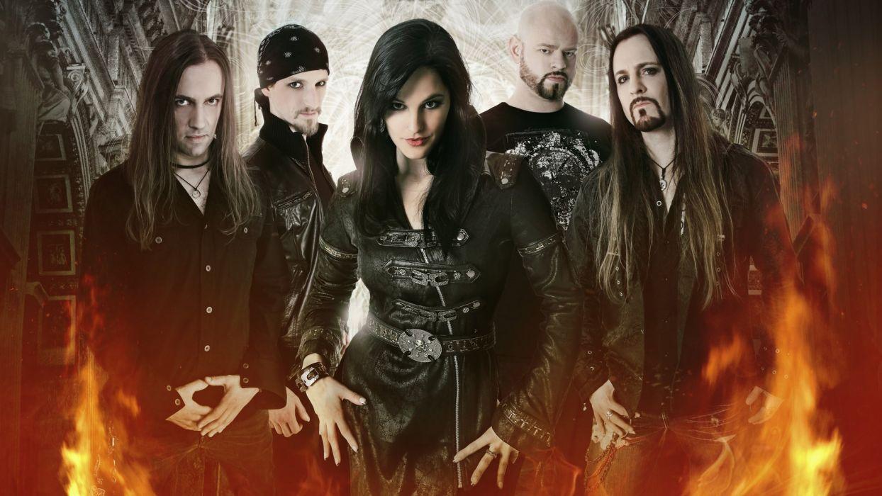 XANDRIA symphonic metal heavy gothic rock (32) wallpaper