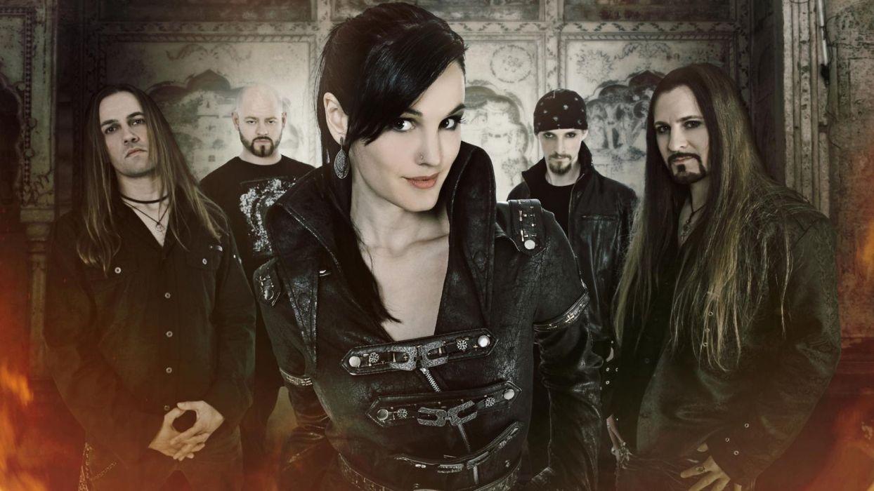 XANDRIA symphonic metal heavy gothic rock (34) wallpaper
