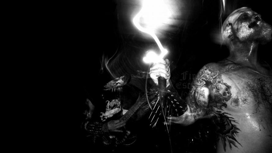 DODSFERD black death metal heavy occult satanic dark wallpaper