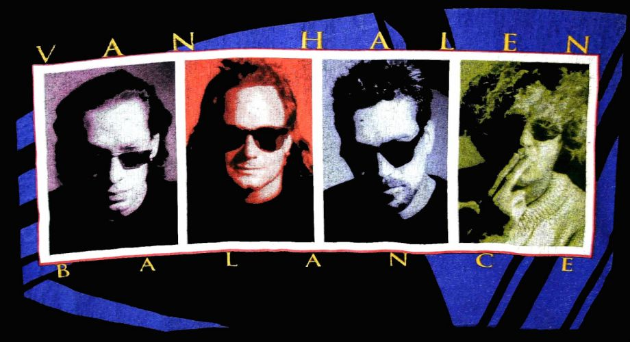 VAN HALEN hard rock heavy metal classic poster wallpaper