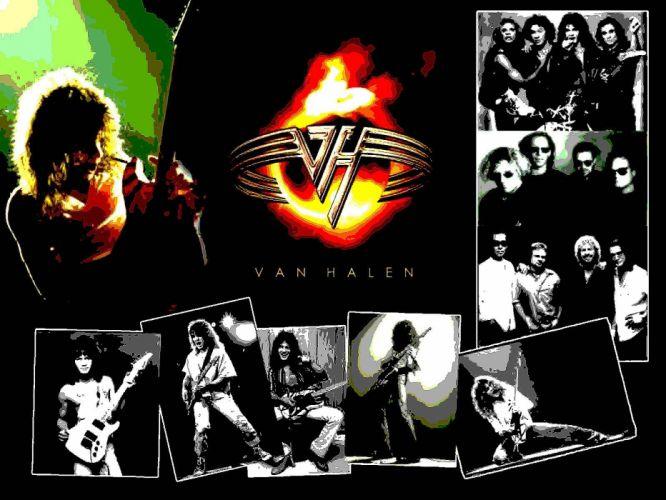 VAN HALEN hard rock heavy metal classic guitar poster wallpaper