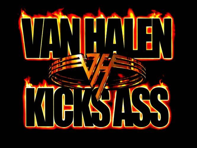 VAN HALEN hard rock heavy metal classic sadic poster fire wallpaper