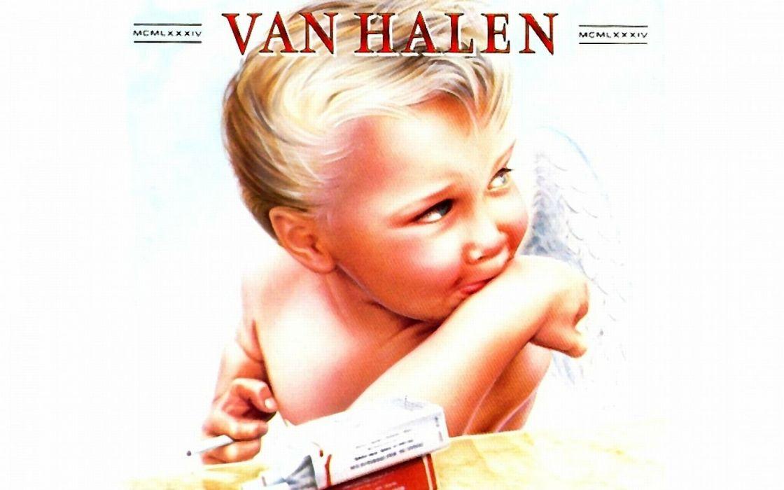 Van Halen Hard Rock Heavy Metal Classic Poster Baby Wallpaper
