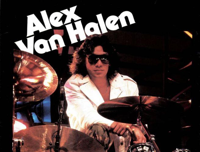 VAN HALEN hard rock heavy metal classic poster drums wallpaper