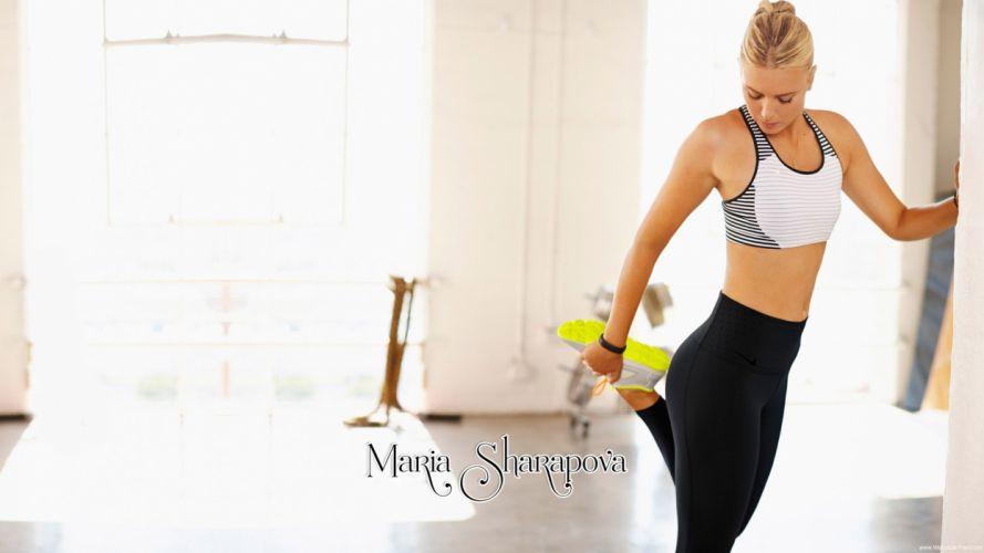 MARIA SHARAPOVA tennis model babe russian (8) wallpaper