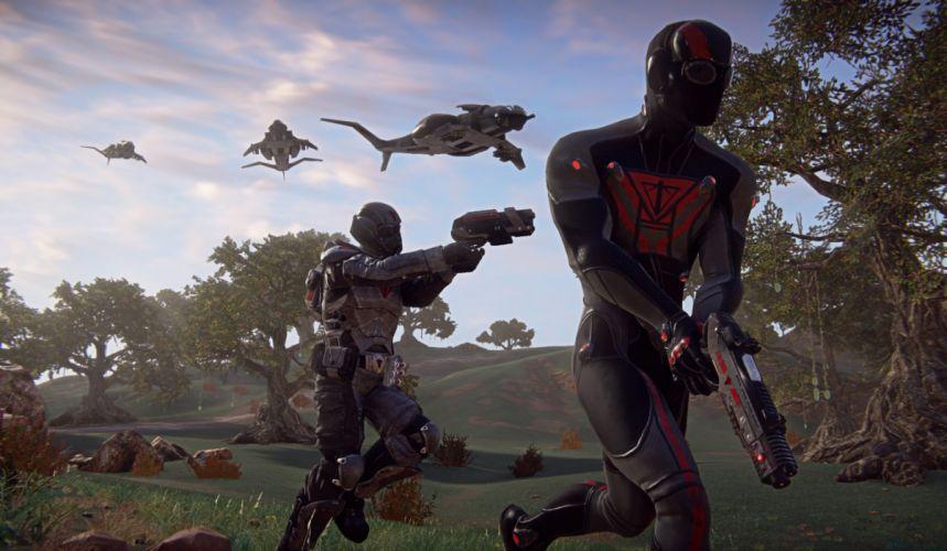 PLANETSIDE 2 sci-fi shooter futuristic (8) wallpaper