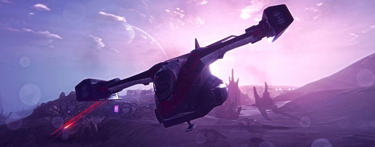 PLANETSIDE 2 sci-fi shooter futuristic (22) wallpaper