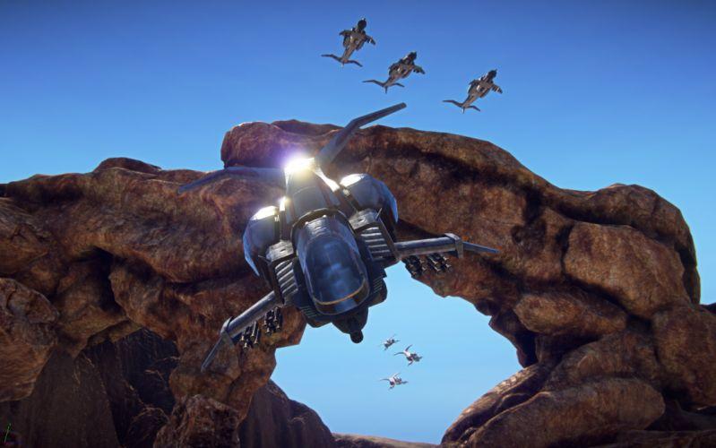 PLANETSIDE 2 sci-fi shooter futuristic (19) wallpaper