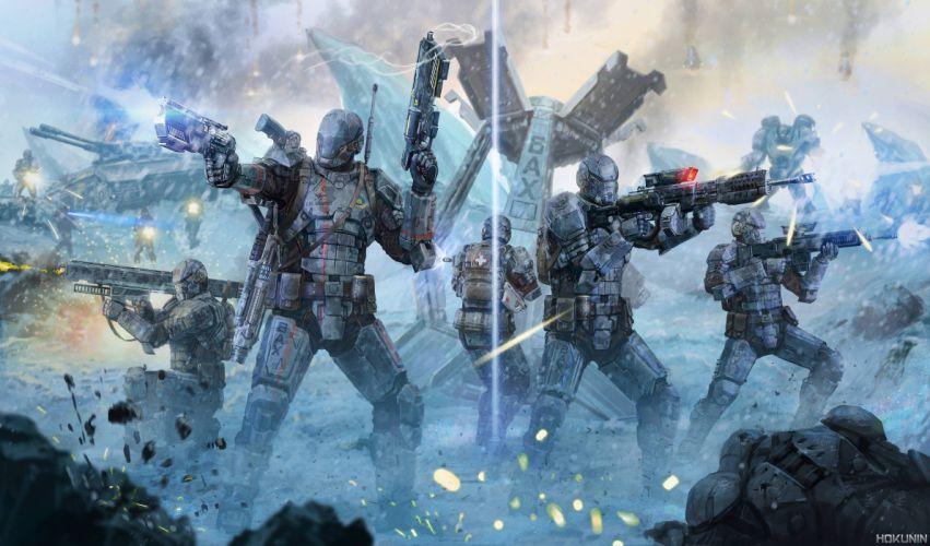 PLANETSIDE 2 sci-fi shooter futuristic (67) wallpaper