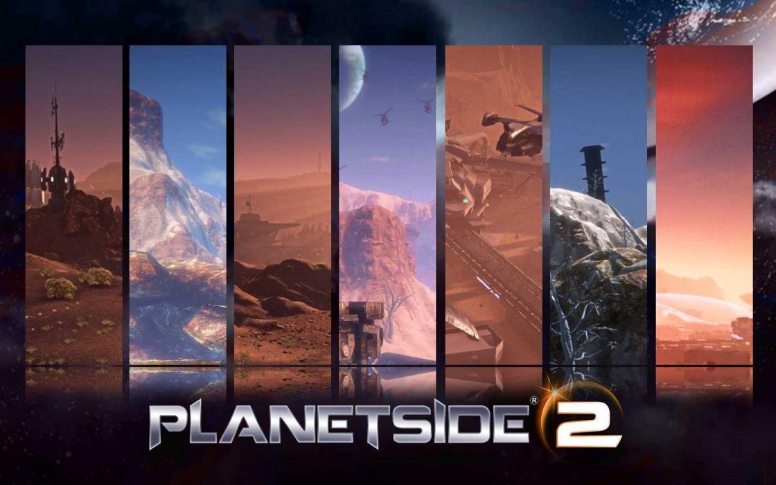 PLANETSIDE 2 sci-fi shooter futuristic (26) wallpaper
