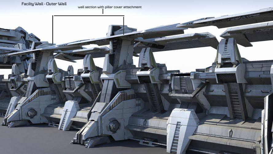 PLANETSIDE 2 sci-fi shooter futuristic (58) wallpaper