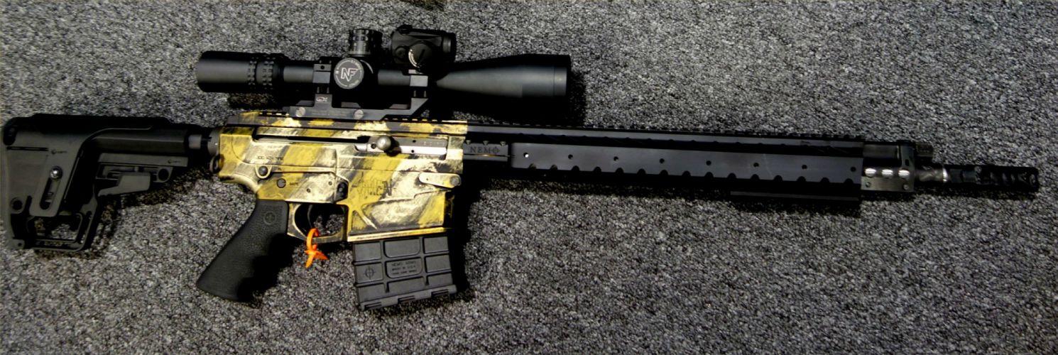 NEMO ARMS OMEN Tango-6 300 Blackout assault rifle weapon gun military police (9) wallpaper