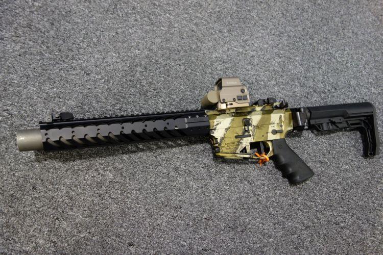 NEMO ARMS OMEN Tango-6 300 Blackout assault rifle weapon gun military police (10) wallpaper
