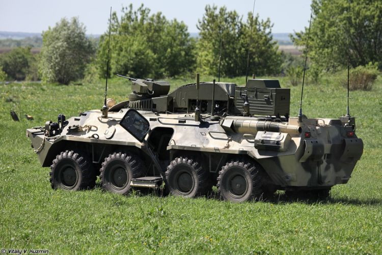 Russian Red Star Russia BPDM Typhoon-M counter sabotage combat vehicle armored 8x8 war military army 4000x2667 wallpaper