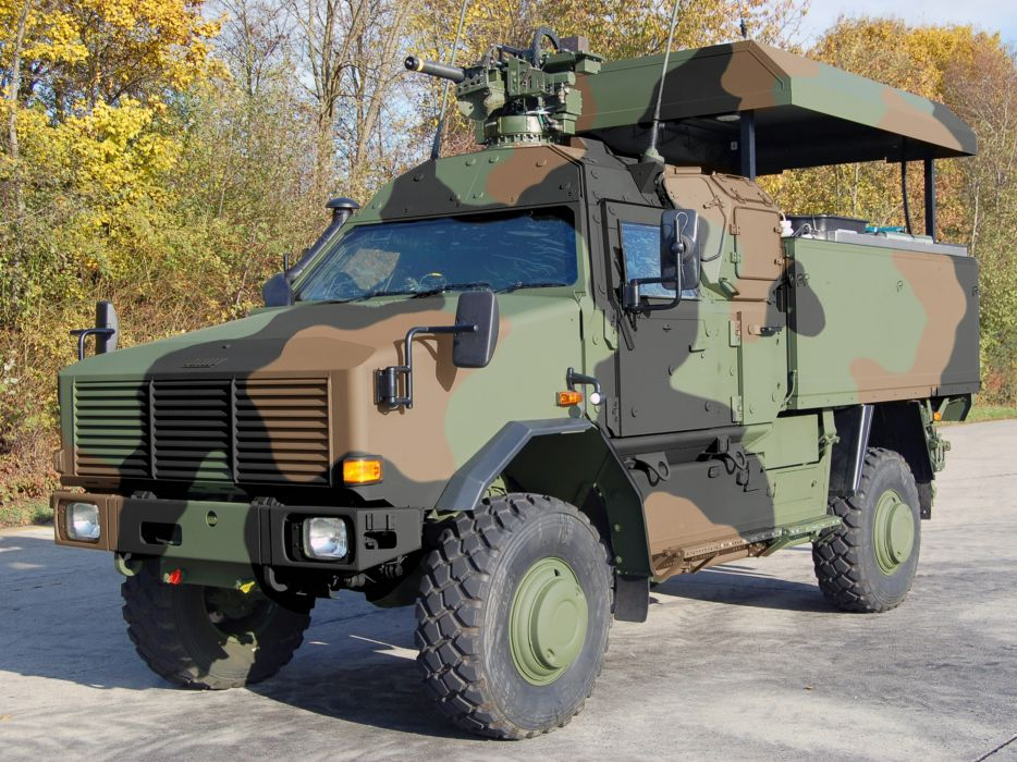 Germany NATO combat vehicle armored war military army 4000x3000 kmw dingo-2 4x4 gs wallpaper