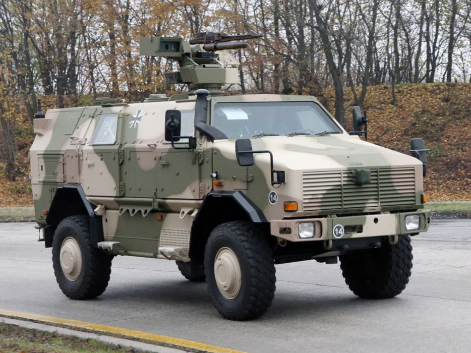 Germany NATO combat vehicle armored war military army 4000x3000 kmw dingo-2 4x4 psychological-operations wallpaper