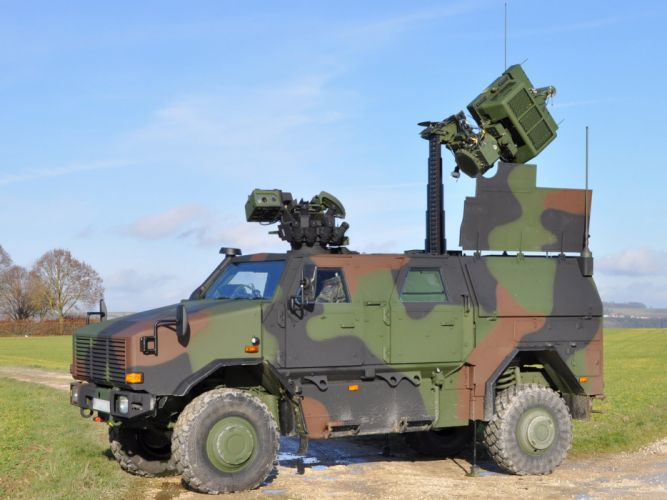 Germany NATO combat vehicle armored war military army 4000x3000 kmw dingo-2 4x4 reconnaissance 2008 wallpaper