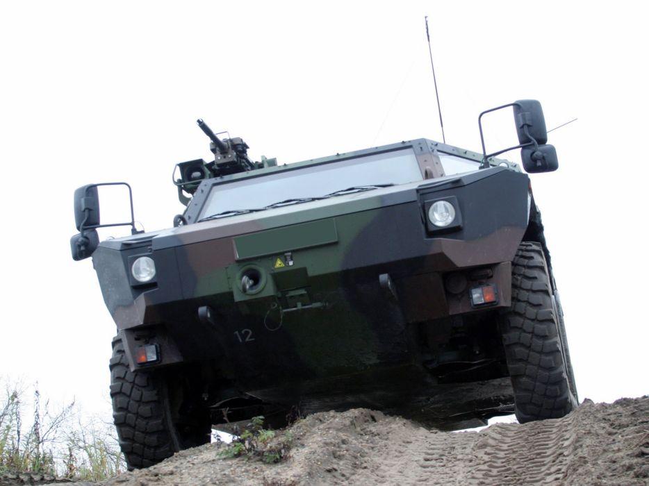 Germany NATO combat vehicle armored war military army 4000x3000 kmw fennek 2001 wallpaper