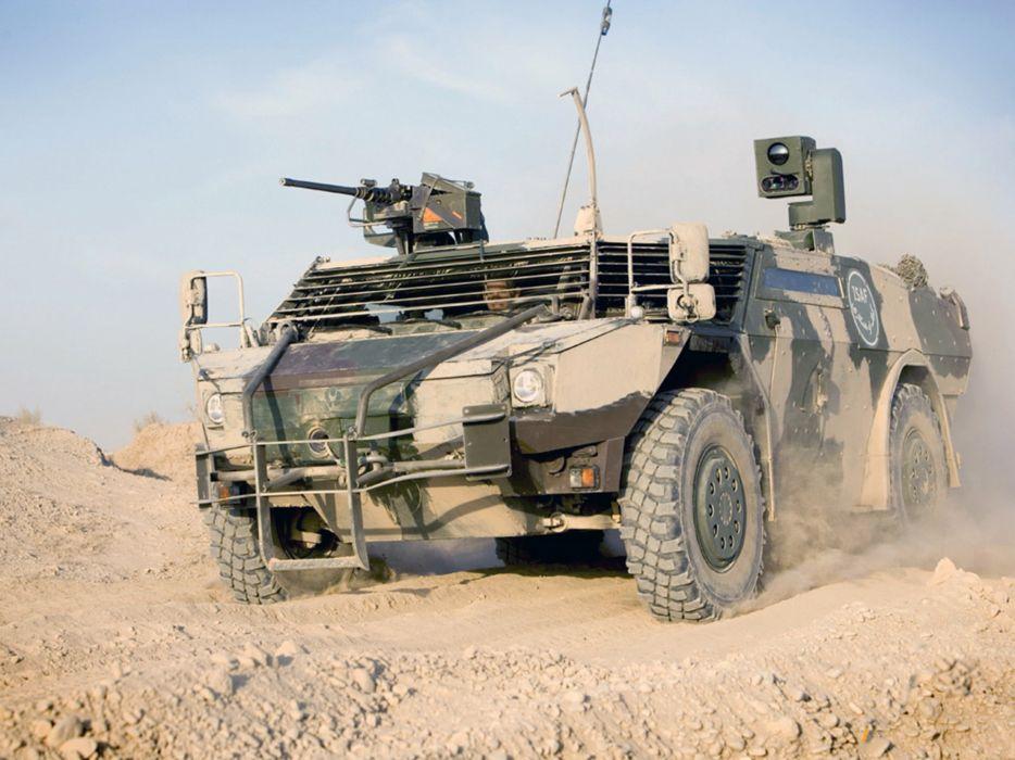 Germany NATO desert combat vehicle armored war military army 4000x3000 kmw fennek 2001 ISAF wallpaper