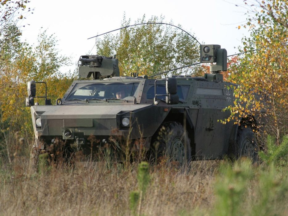 Germany NATO combat vehicle armored war military army 4000x3000 kmw fennek 2001 wallpaper