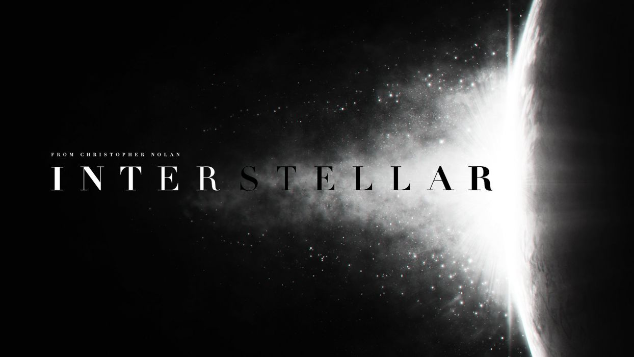 INTERSTELLAR adventure mystery sci-fi futuristic film poster space stars wallpaper