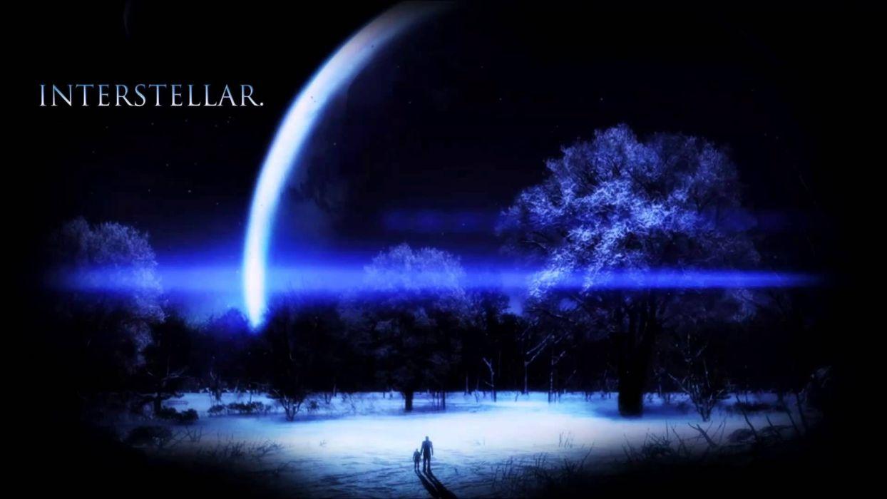 INTERSTELLAR adventure mystery sci-fi futuristic film poster planet wallpaper
