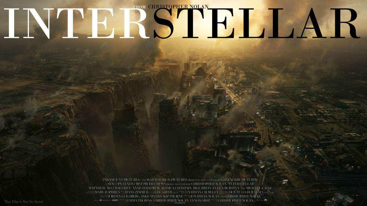 INTERSTELLAR adventure mystery sci-fi futuristic film apocalyptic wallpaper