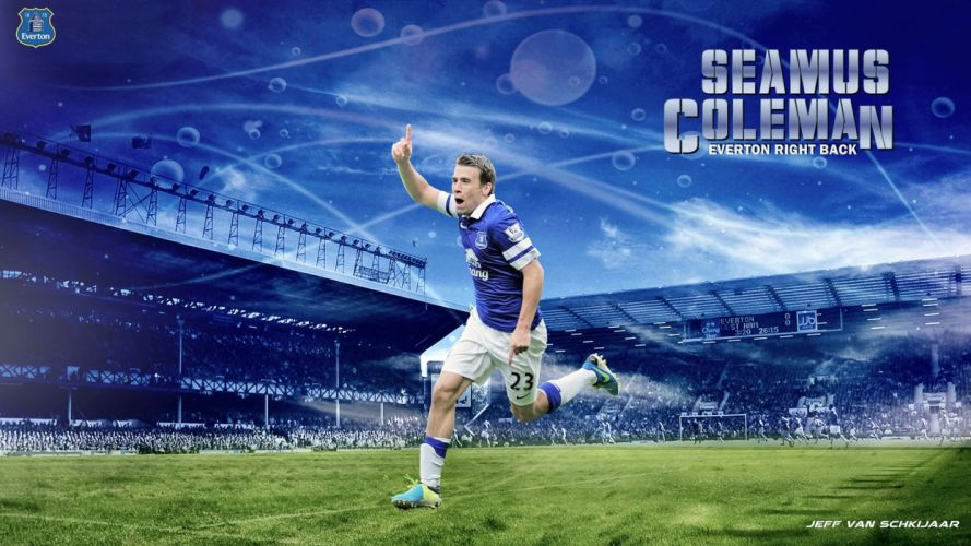 Seamus Coleman / Everton wallpaper