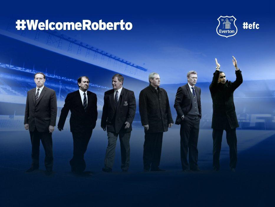 Roberto Martinez / Everton  wallpaper