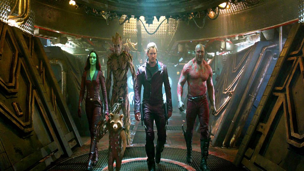 GUARDIANS OF THE GALAXY action adventure sci-fi marvel futuristic (1) wallpaper
