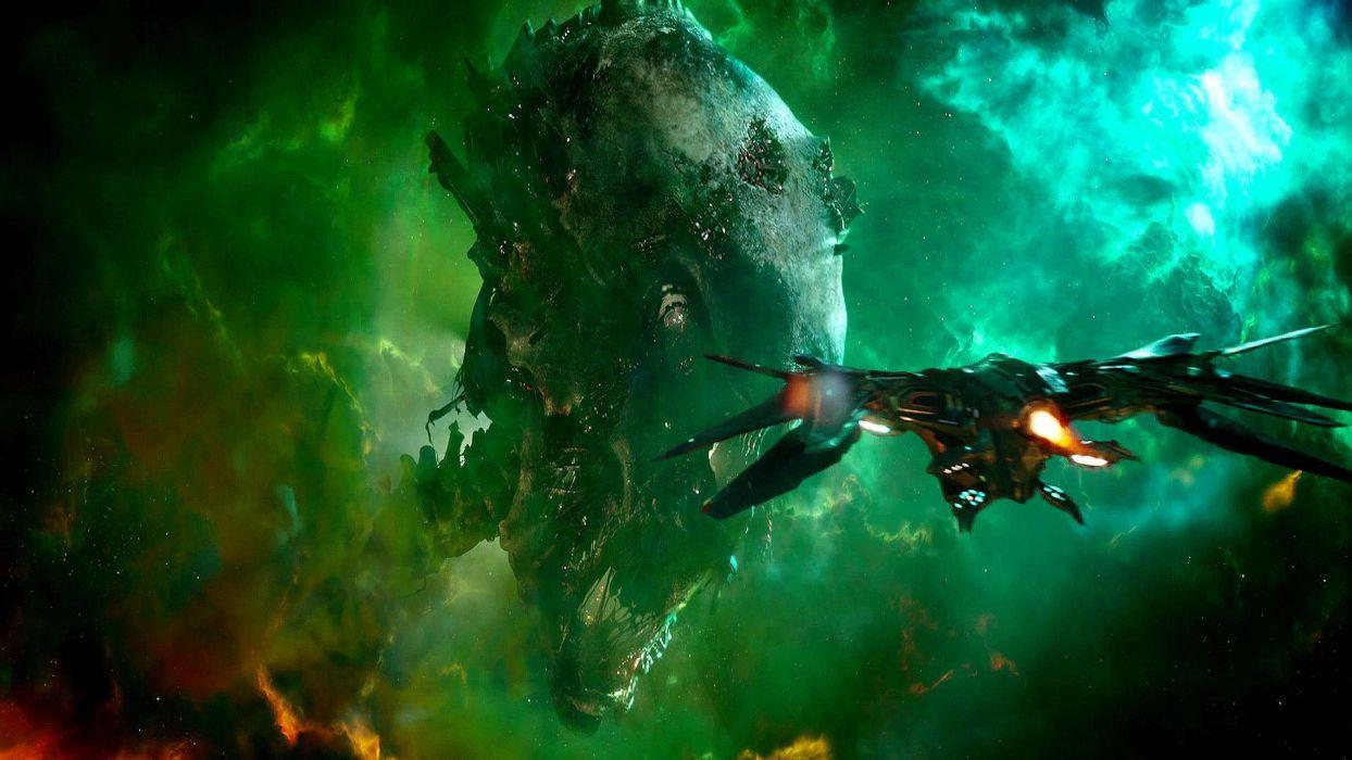 GUARDIANS OF THE GALAXY action adventure sci-fi marvel futuristic (12) wallpaper