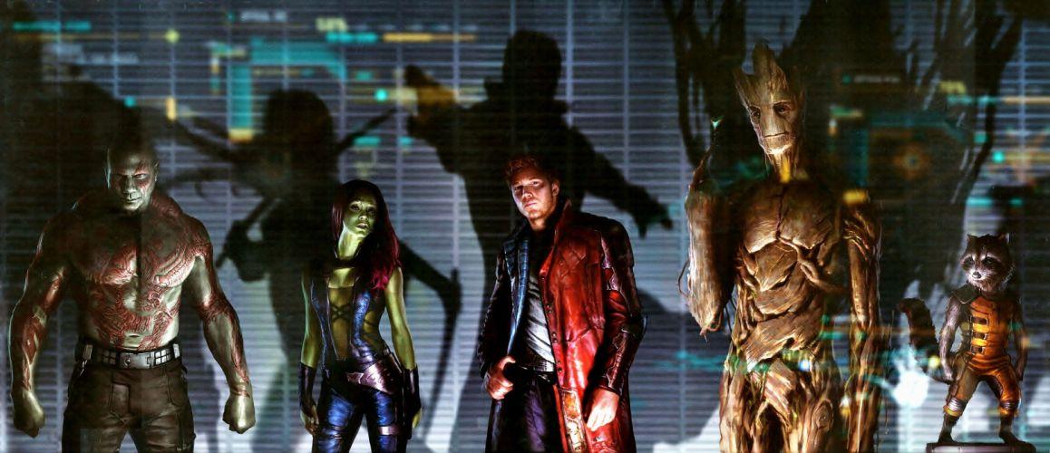 GUARDIANS OF THE GALAXY action adventure sci-fi marvel futuristic (24) wallpaper