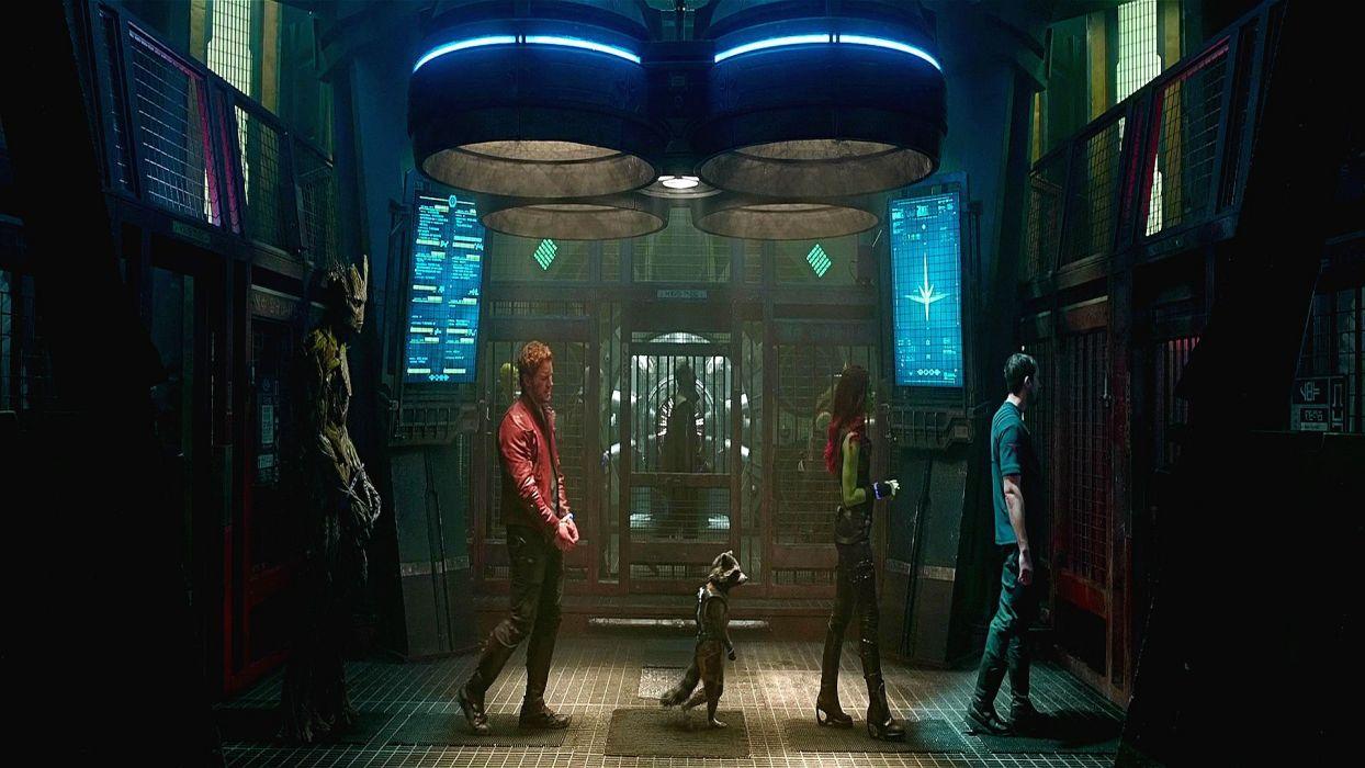 GUARDIANS OF THE GALAXY action adventure sci-fi marvel futuristic (37) wallpaper