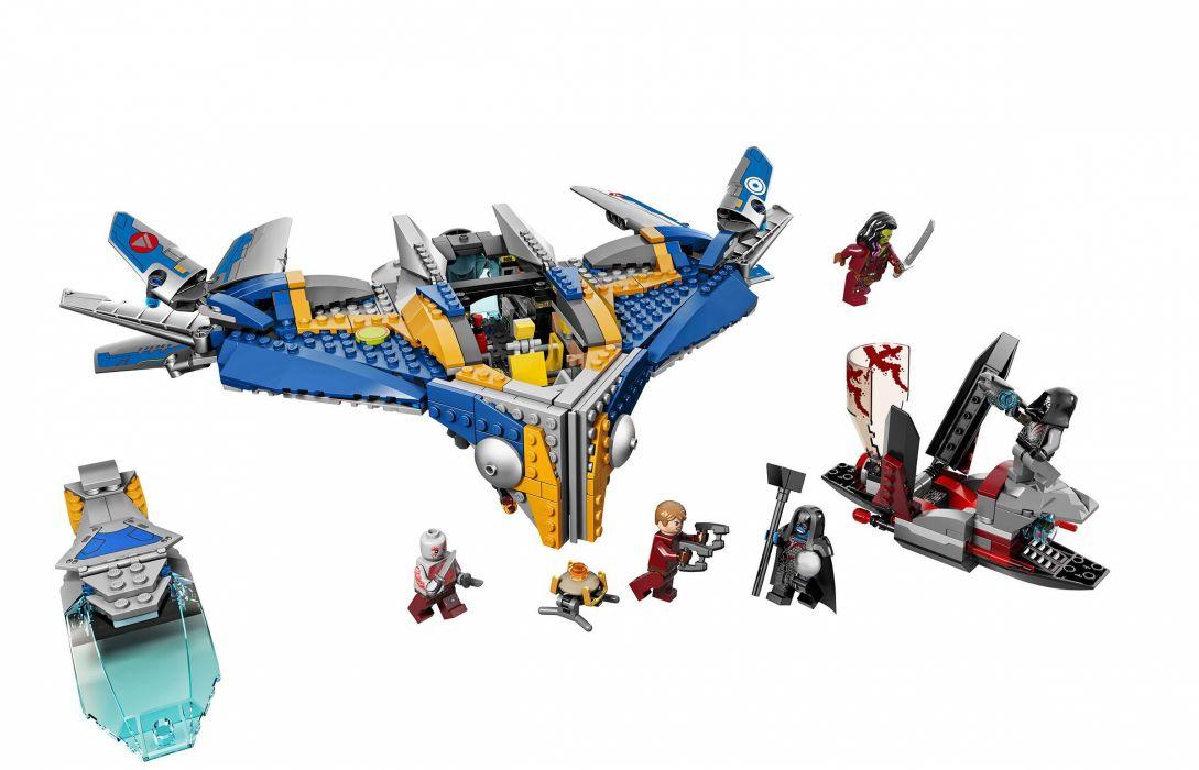 GUARDIANS OF THE GALAXY action adventure sci-fi marvel futuristic lego wallpaper