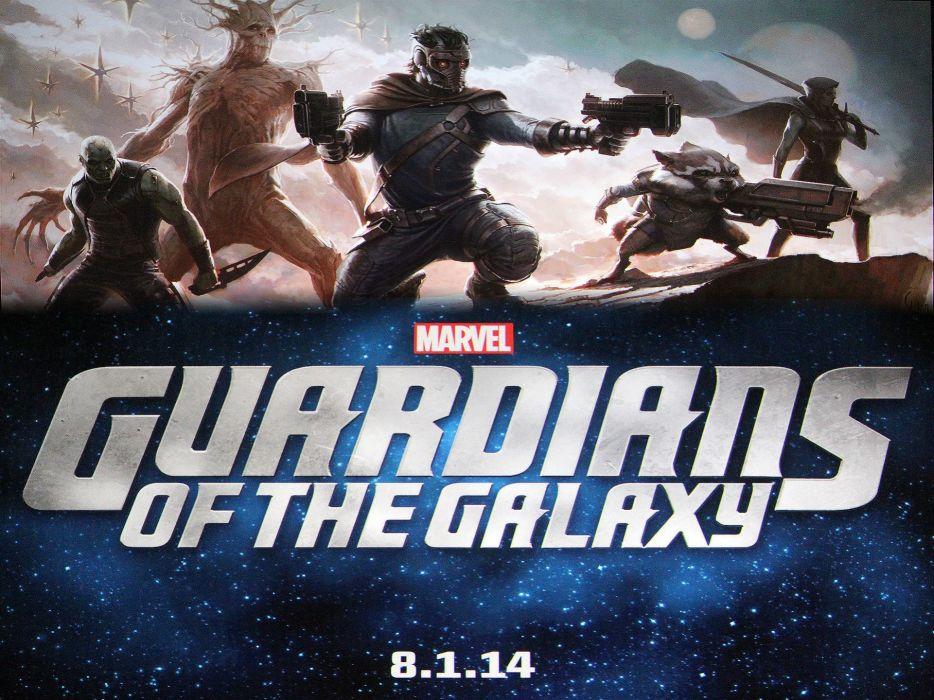 GUARDIANS OF THE GALAXY action adventure sci-fi marvel futuristic (7) wallpaper