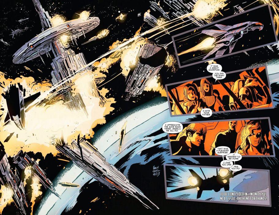 GUARDIANS OF THE GALAXY action adventure sci-fi marvel futuristic (26) wallpaper
