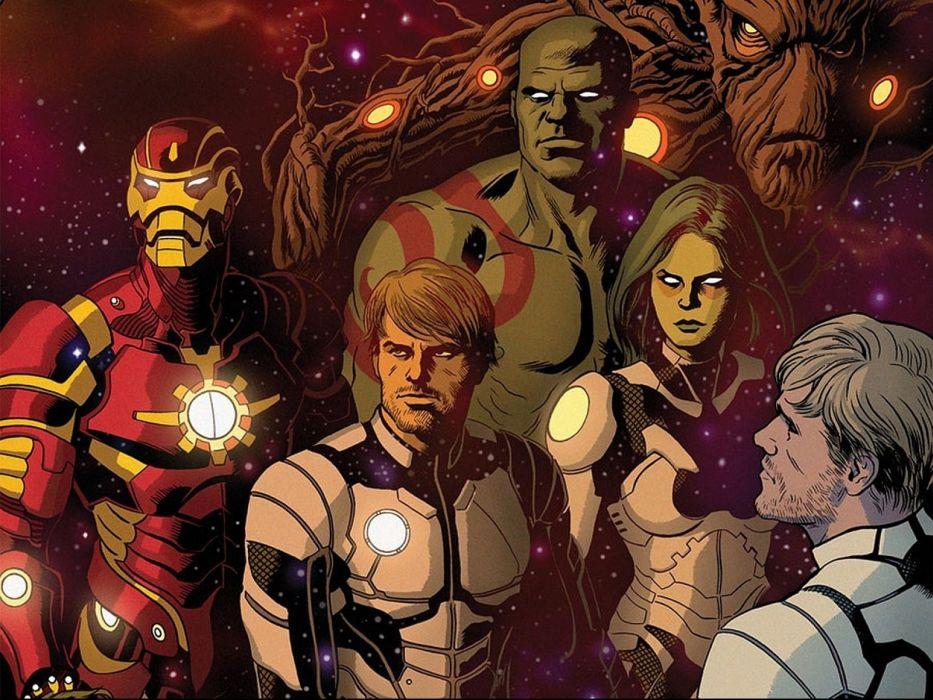 GUARDIANS OF THE GALAXY action adventure sci-fi marvel futuristic (34) wallpaper