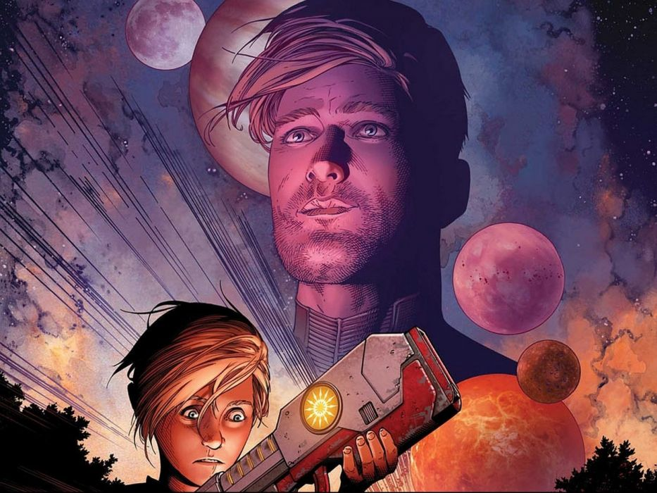 GUARDIANS OF THE GALAXY action adventure sci-fi marvel futuristic (38) wallpaper